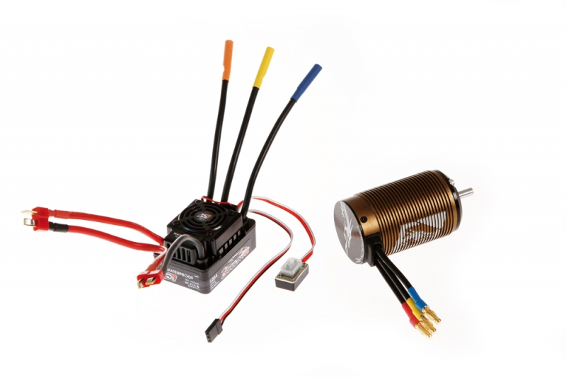 Speed controller DS8 WP-120A - BL 1650 motor